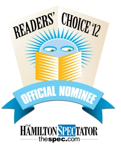 Readers Choice 2012 nominee